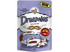 Dreamies Cat Treats 60g - Choose Your Flavour Duck