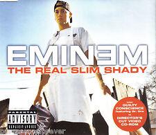 EMINEM - The Real Slim Shady (UK 4 Track Enh CD Single)