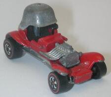 Redline Hotwheels Red Enamel 1974 Red Baron oc9037