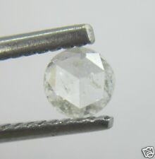0.19Cts Rose Cut Diamond Natural Real White Color Round 4.10-4.11x1.59 MM