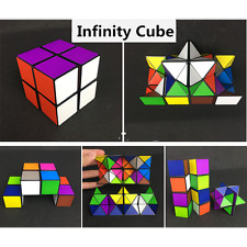 2017 infinito cubo mini para alivio de estrés Fidget Anti Anxiety Cube juguetes