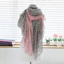Fashion Women Soft Long Large Scarf Wrap Ladies Floral Shawl Chiffon Scarves US