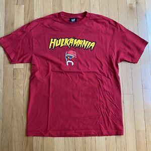 Hulkamania T-Shirt Hulk Hogan Wrestling WWE 2002 Vintage WWF Large