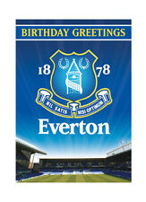 Everton Official Birthday Sound Card - FREE 1ST CLASS POSTAGE (SC150)