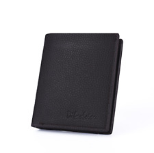 Fashion Men's PU Leather Thin Wallet Credit Card ID Holder Purse Mini Wallet