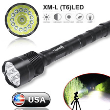 Zoomable 80000 Lumen CREE LED XML 14x T6 Tactical Flashlight Torch Super Bright