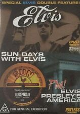 Sun Days With Elvis & Elvis Presley's America Region 4 DVD VGC
