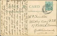 Mr Chandler. Whitley Bay R S O, 17 Victoria Terrace, Northumberland. 1904 RJ.816