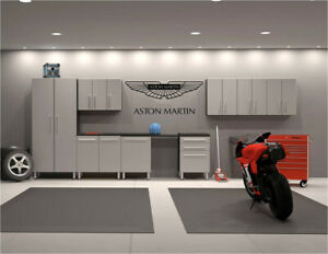 "Aston Martin wall decal 20"" x 48"" Garage Any Color Vinyl or Metallics"