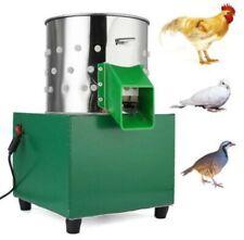 110V Small Chicken Dove Feather Plucking Machine Poultry Plucker Birds Depilator