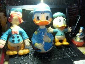 Konvolut Donald Duck  Disney Figuren als Polizist 1960-1970 Konvolut