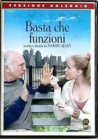 BASTA CHE FUNZIONI (2009) un film di Woody Allen - DVD EX NOLEGGIO - MEDUSA