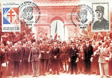 carte premier jour - Libération de Paris (2)