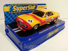 Slot SCX Scalextric Superslot H3314 Chevrolet Camaro Pico Troberg Racing Liptons