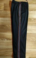 Sergio Tacchini 90's Vintage Mens Tracksuit Pants Trousers Orange Black Monogram