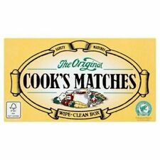 More details for 12 x boxes original cooks safety matches approx 2640 matches in total