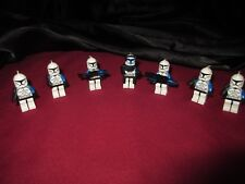 LEGO Star Wars Minifigures LOT. Captain Rex Armored,501st Legion Clone Troopers