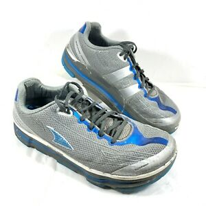 GUC Men's Altra Repetition Running Shoes Gray Blue Sz 12.5 M