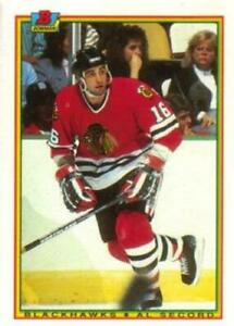 #12 Al Secord - Chicago Blackhawks - 1990-91 Bowman Hockey