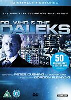 Dr Who And The Daleks - Digitally Restored (DVD) - Peter Cushing Doctor Who BBC