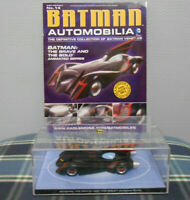 Eaglemoss Batman Automobilia -No.14 Brave And The Bold Animated Series Car +Book