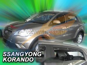 Geländewagen SUV 5türer hin Heck-Windabweiser für SsangYong Korando 5 C200 2010