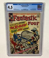 Fantastic Four #28 CGC 4.5 KEY! (Early X-MEN appearance!) 1964 Marvel Comics