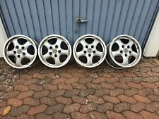4 Original Cup 2 ALU-Felgen Porsche 7,5Jx17 ET50 / 9Jx17 ET55 zum Aufarbeiten