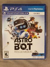 ASTRO BOT Rescue Mission PS4 Game (PS VR required) NEW FACTORY SEALED US Version