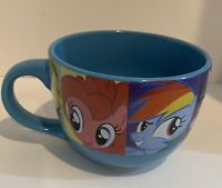 MY LITTLE PONY Large Coffee Tea Cocoa Soup Mug Cup 24 Fl Oz Blue Ceramic