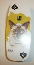 NEW SEALED - Cat Themed Playing Cards - Cat Eyes - Balinese - Long Rounded Shape