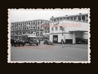 40's TEXACO GAS STATION TRUCK BRITISH INDIA ARMY BUS Hong Kong Photo 香港旧照片 #2189