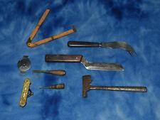 Lot Of Vintage Antique Junk Drawer Tools Etc
