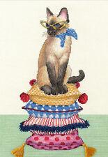 Cross Stitch Kit ~ Dimensions Cat Lady #70-35367