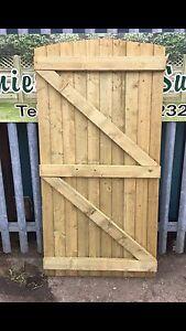 180 x 90 T&G Heavy Duty Semi Braced Garden Gate (second) Driveway Fence
