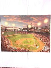 Fenway Park-Boston Red Sox, Original Thomas Kinkade Art Card/ 2008