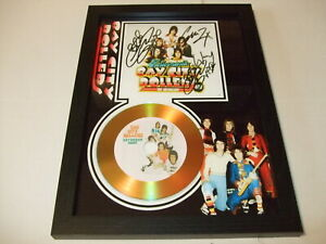 BAY CITY ROLLERS   SIGNED GOLD CD  DISC  6