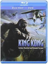 KING KONG New Sealed Blu-ray + DVD 2005 NEW Factory Sealed, Free Shipping