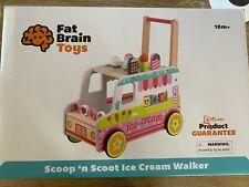Scoop 'n Scoot Ice Cream Walker - Fat Brain Toys toddler walker - New unopened