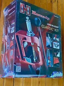 Hornady 085003 Lock-N-load Classic Single Stage Reloading Press Kit NEW SEALED