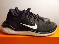 "Youth Size Nike Free Run 2018 GS ""Black/White"" Athletic AH3451 003 size 6Y"