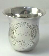 Antique French Sterling Silver Cup / Beaker  – c1840 by Etienne-Auguste Courtois