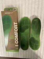NEW Superfeet Trailblazer Comfort Insoles D Sz M 7.5-9 W 8.5-10 US Carbon Fiber