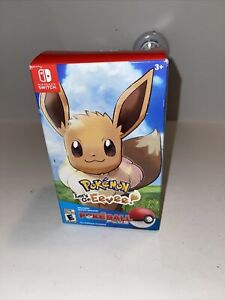 Pokemon: Let's Go Eevee Bundle w/ Poke Ball Plus (Nintendo Switch) NEW IN BOX!