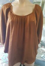 witchery blouse top bronze party races size xs