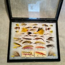 Bert Quimby Streamers, Hand Tied Flies Silver Ghost, Mickey Finn, Barnes Special