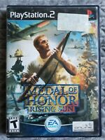 Medal of Honor: Rising Sun PLAYSTATION 2 (PS2) Action / Adventure (Video Game)