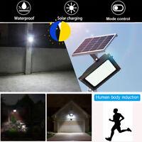 Solar Powered 150LED Sensor Waterproof Outdoor Security Flood Light Home Garden