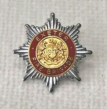 Exeter Fire Brigade cap badge