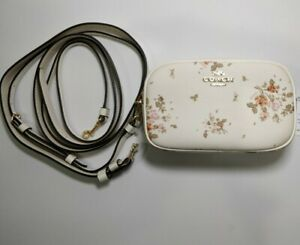 NWT COACH BELT BAG 91179 CONVERTIBLE ROSE BOUQUET fanny pack crossbody wallet